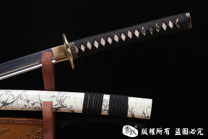 《叶子》标准烧刃打刀