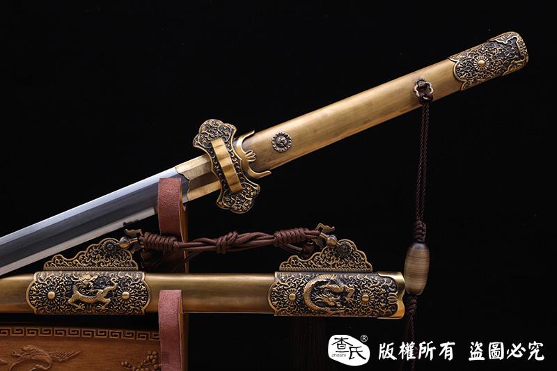 全包铜天龙八面唐剑