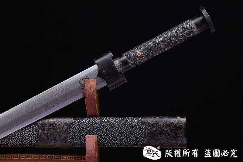 手工高端陨铁宝剑 天铁剑 陨石宝剑 大师作品